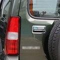 2 PCS Estilo Do Carro de Alta Qualidade Tronco Traseiro ABS Porta Da Tampa Alça Adesivo Para Suzuki Jimny Car Acessórios Frete Grátis decoração