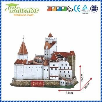 Novi model 3D slagalice s Rumunjskom, uz upotrebu modela Bran - Igre i zagonetke - Foto 3