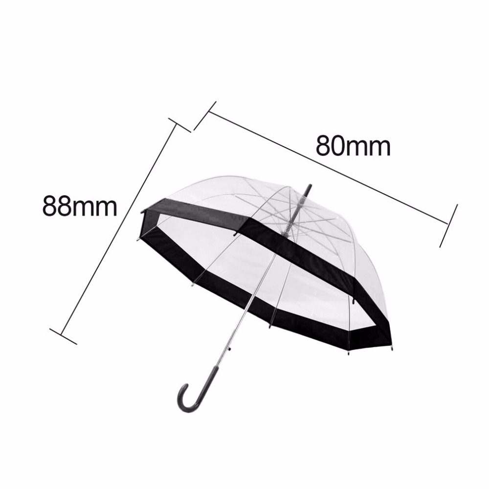 Plastic Eva Transparent Umbrella Lovely Princess Rain Fender Fuzzwahpedal Service Manual Free Download Schematics Eeprom Parasol Girl Semi Automatic Umbrellas Clear Paraguas Us190