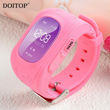 DOITOP OLED/LCD Smart Anti-Lost Watch Children Kid Wristwatch LBS GPS SOS Locator Position Tracker Smartwatch Child Guard O35