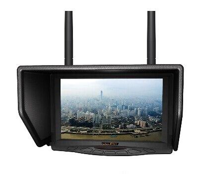 צג LCD Lilliput 329 / DW 7inch 5.8GHz TFT LCD Widescreen FPV צג - מצלמה ותצלום