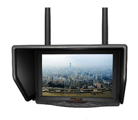 LCD Monitor Lilliput 329/DW 7inch 5.8GHz TFT LCD Widescreen FPV Monitor Double Antenna for FPV Big Helicopte