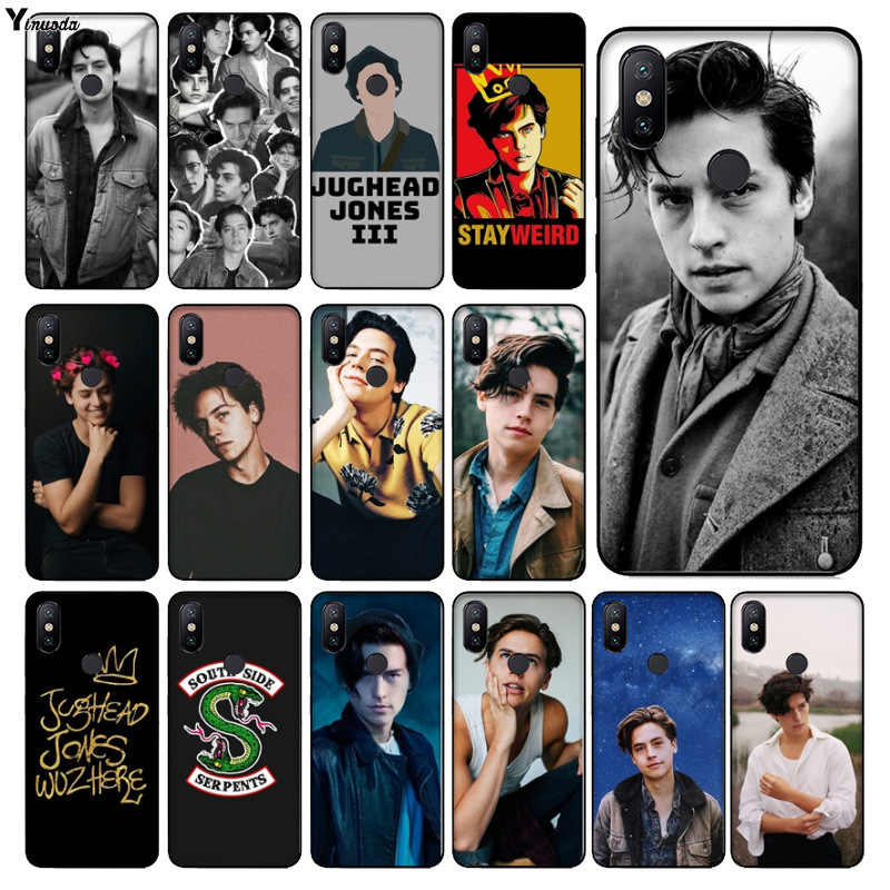 Yinuoda American tv riverdale Jughead Jones Black TPU  Phone Cover for xiaomi mi 6  8 se note2 3 mix2 redmi 5 5plus note 4 5 5