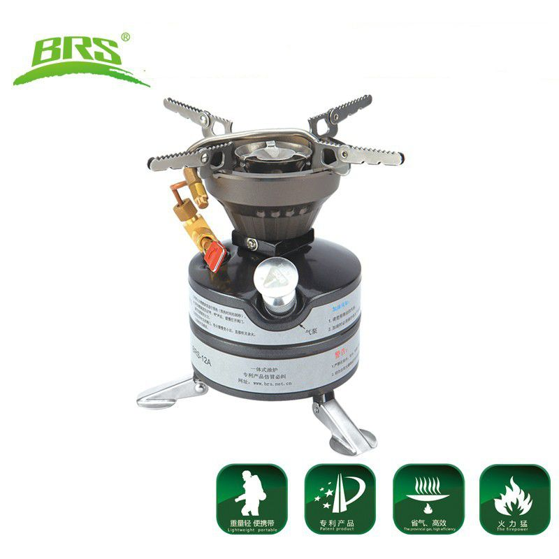 BRS  Gasoline Stove Cooking Stove Camping Stove Outdoor Stove 2-3 Field Operations Oil Outdoor Activity Portable brs titan oil stove cooking food cooker camping oil furnace outdoor cookware brs 7