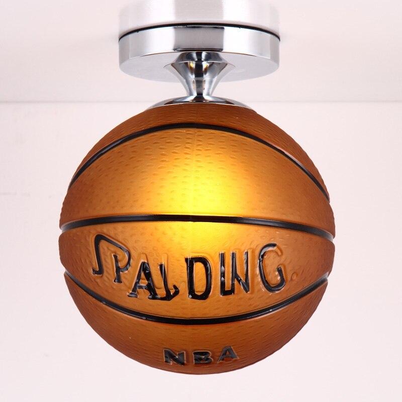 Us 37 84 12 Off Fussball Basketbal Moderne Led Decke Lichter Kinderzimmer Beleuchtung Decke Lampe Kinder Flush Mount Decke Licht Decke Lampe E27 In