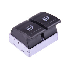 Car Electric Window Switch 2 Gang Driver Side Door Rocker Switch 7E0 959 855A For VW Transporter T5 T6