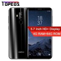 HOMTOM S8 5 7 HD 18 9 Aspect Ratio Mobile Phone MTK6750T Octa Core 4G RAM