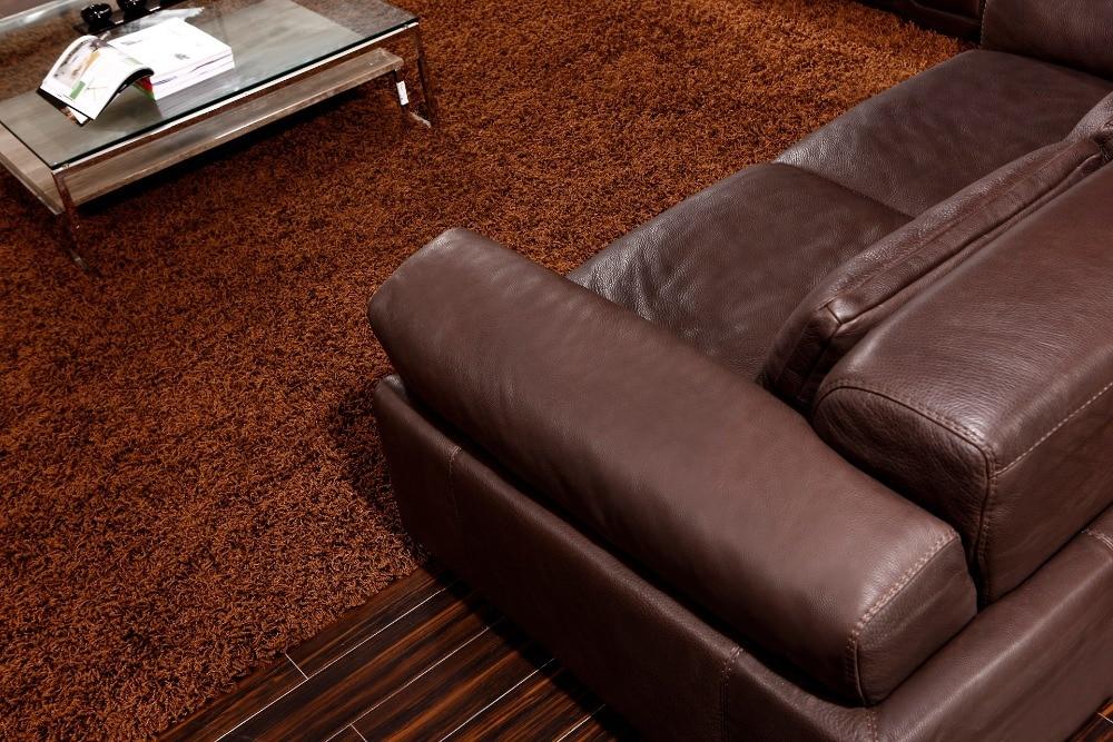 8256 # Dnevna soba Usnjeni kavči set iz perja / Luksuzni usnjeni - Pohištvo - Fotografija 2