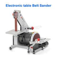 25 762mm Electronic Table Belt Sander Polishing Machine Vertical Grinder