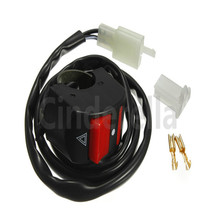 7/8 Motorcycle Handlebar Accident Hazard Light Switch ON OFF Button accident