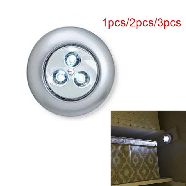 Mini 136pcs Led Bulbs Stick Touch Lamp Wall Lamp Lights Emergency