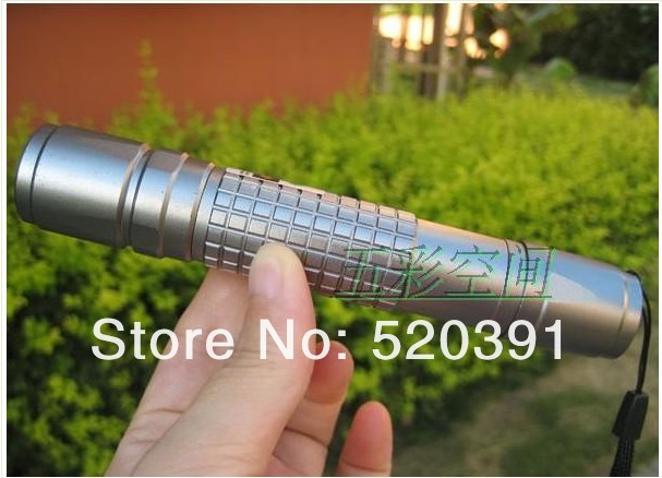 ФОТО high powered 532nm 10000mW/10w focusable green laser pointer flashlight laser torch  heads BURN matches+Changer+Box+FREE SHIPPIN