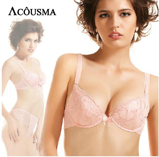 French Original Brand Luxury Lace Embroidery Brassiere Female Underwear Sexy Push Up Ladies Bra Women Bras BS270