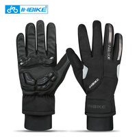 INBIKE Winter Cycling Gloves Full Finger Touch Screen Sport Gloves Gel Padded Thermal Bicycle Bike MTB