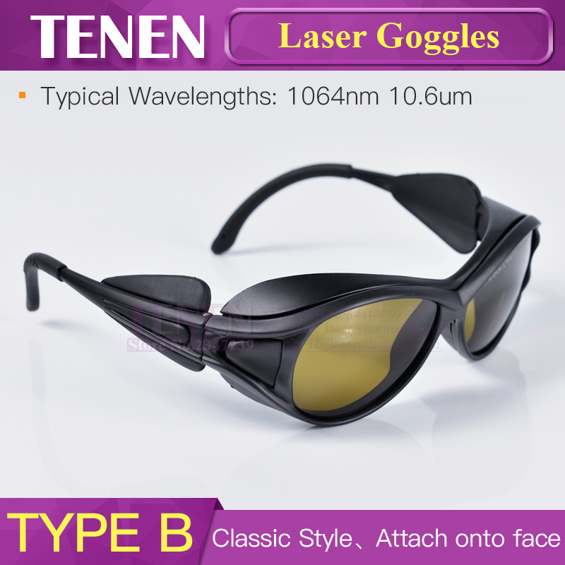 Image 4 - 1064nm 10600nm Laser Safety Goggles Protective Glasses Shield Protection Eyewear For YAG Fiber CO2 Laser Cutting Welding Machine-in Woodworking Machinery Parts from Tools