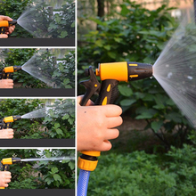 Car Water Spray Gun Adjustable Car Wash Hose Garden Spray Portable High Pressure Gun Sprinkler Nozzle Water Jet Equalizer