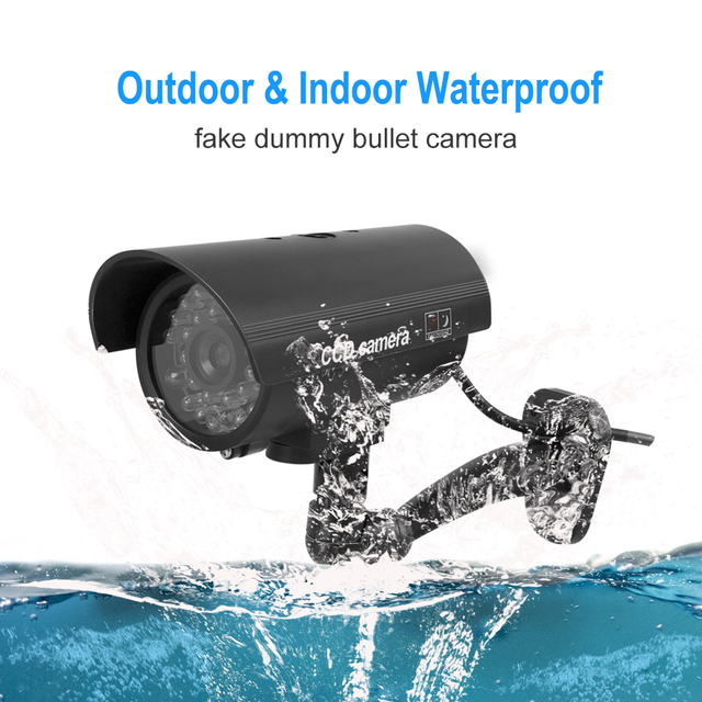 2Pcs/Lot Outdoor Fake Camera Bullet Home Cctv Surveillance
