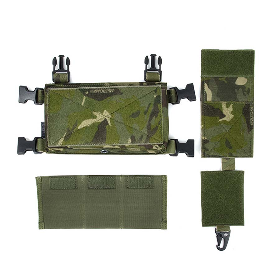 TMC Hunting MCR Front Set for Tactical Vest SS Chest Rig Chest Hanging MTP Multicam Tropic цена 2017