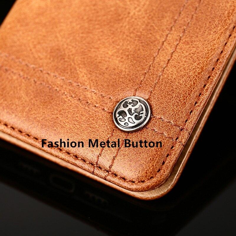 Ktry Винтаж флип чехол для Asus Zenfone Go ZB551KL бизнес Стиль кошелек чехол из искусственной кожи защитный Сумки крышка с карты poc
