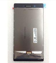 """7 """"pulgadas de pantalla Lcd + pantalla Táctil Para Lenovo Tab 3 Tab3 TB3-730X TB3-730M Lcd pantalla + Touch de Cristal Del Panel Asamblea del digitizador envío libre"""