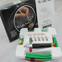 Lillte Torch Kit For Oxygen Acetylene With 5 Tips Gas Cutting Torch Welding Torch Micro Soldering