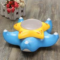 Electric Up And Down Star Fish Kids Toy 3D Light And Music Funny Cute Yellow Blue