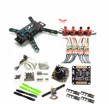DIY FPV mini drone RED HAWK Nighthawk 250 frame kit DX2205 KV2300 BL20A ESC 2 4S