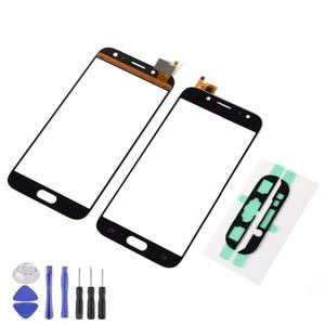 For Samsung Galaxy J7 2017 J7 Pro J730 J730F LCD Display Front Glass Touch Screen Sensor+Adhesive+Tools(J730 All versions)