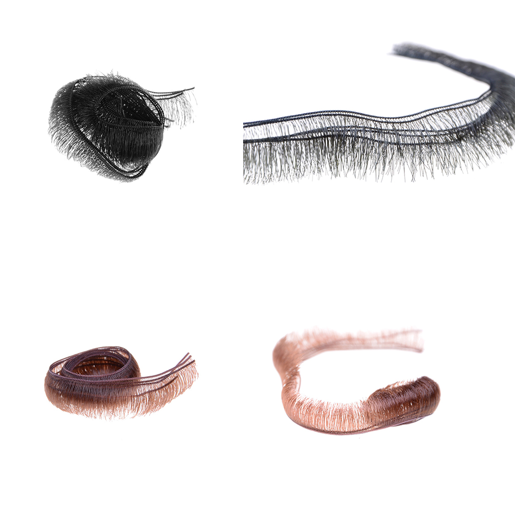 5pcs/lot 0.5/0.8/1.0cm Width Eyelashes For Baby Dolls Accessories Kids Children Toy Doll False Eyelashes