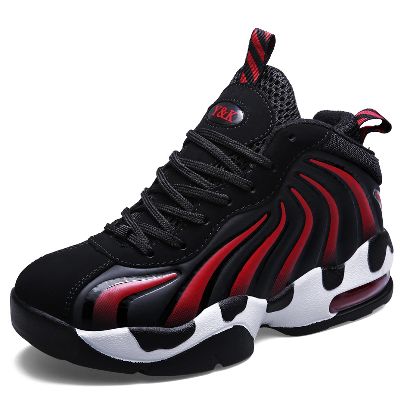 premium selection dd679 c8585 Size 36 44 Hip Top Couple Basketball Shoes For Women Men Adults Male Sports  Ankle Boots Trainer Basketball Sneakers Shoes NX4107-in Basketball Shoes  from ...