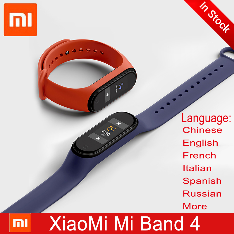 XiaoMi Mi Band 4 Version mondiale Smart Miband 4 NFC Bracelet Bracelet fréquence cardiaque Fitness couleur écran Bluetooth 5.0 bande intelligente