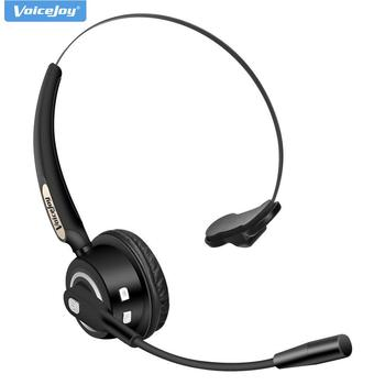 Over-the-Head Bluetooth Wireless Headsets, Hands Free in Car with Mic, Up to 12 Hours, Noise Canceling For Calling and Music