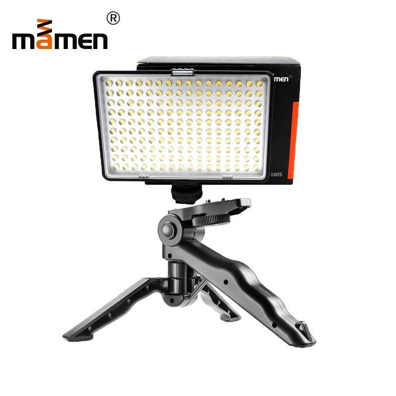 Mamen 120 LED+Gift Photography Lighting 3200K-5500K 9W LED Camera Light For Canon 60D 80D 70D Nikon D5200 Sony Flash Speedlite