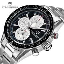 Men's Watches Stainless Steel Business Watch Pagani Design Luxury Military Sports Watches Men Multifunction Clock Reloj Hombre цены
