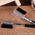 Cepillo del maquillaje de Pestañas Cepillo 2 En 1 Maquillaje Cepillo de Cejas Cepillo Peine de Cejas Herramientas de Maquillaje Profesional Envío Gratis 2HH25