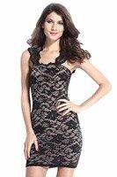 צווארון כיכר שרוולים Bodycon אשליה עירום תחרה שמלת אירוע מיוחד נדן מצויד שמלות גבוהה מותן מקסי Vestidos XXL