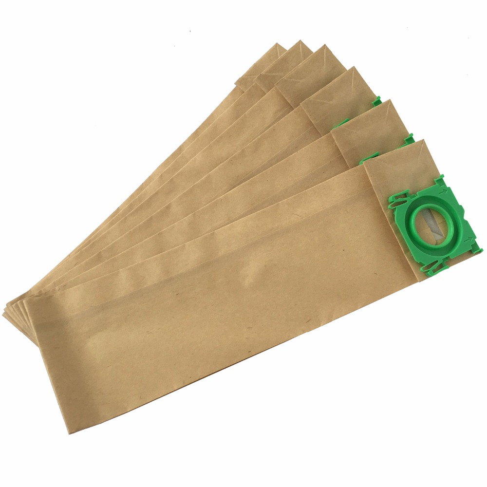 Image 3 - Free shipping 20 Pack Clean Fairy vacuum cleaner bag fits to BORK V701 V702 V705 3 Ply paper dust bag 290mm long-in Vacuum Cleaner Parts from Home Appliances