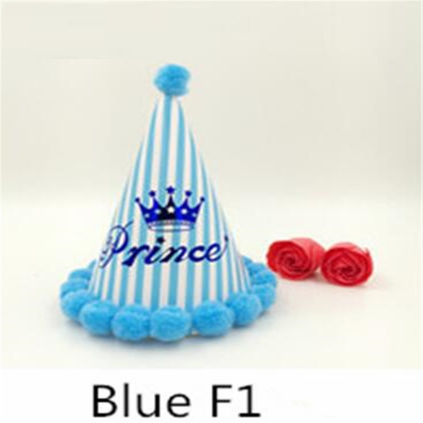 baby boy first birthday party cap decoration Birthday Cap Christmas Birthday Party Decorations Kids Christmas Decorations