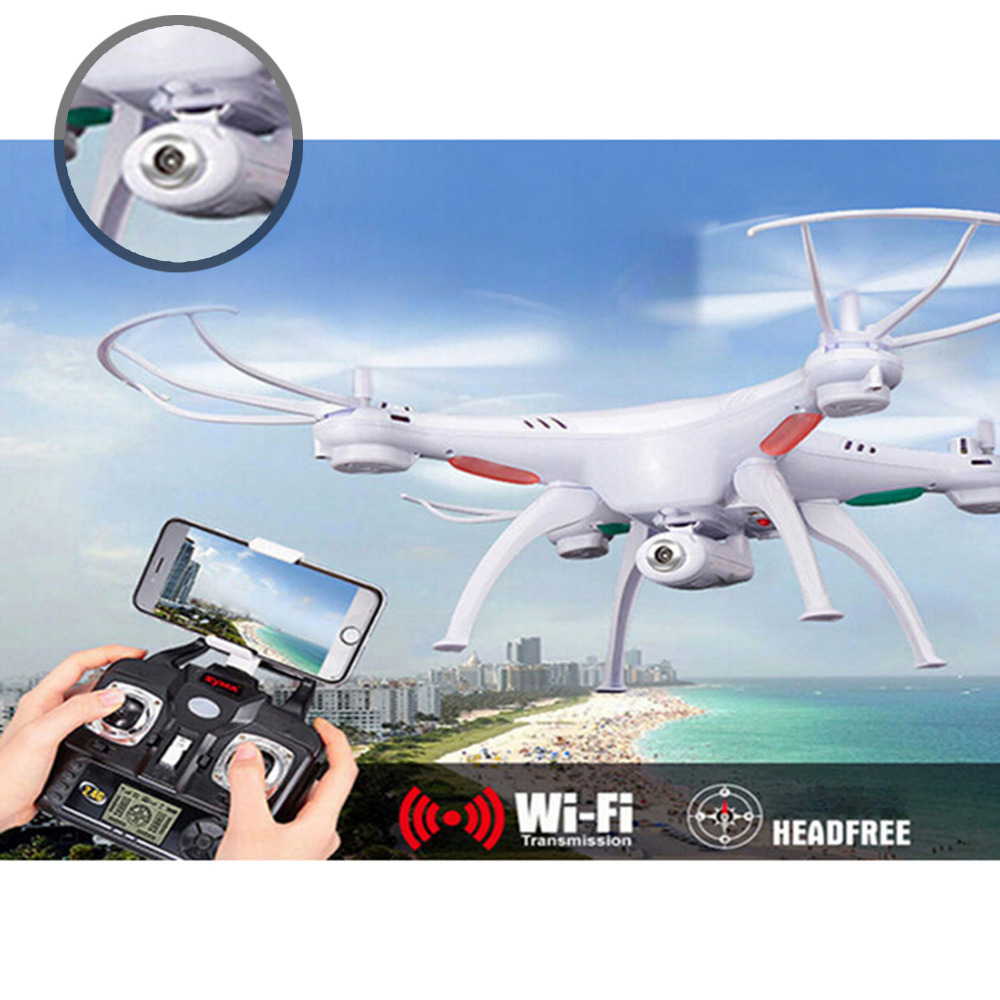 X5SW 2.4G RC Quadcopter Drone 6-Axis Professional aerial RC Helicopter Quadcopter Toys Drone For Syma With battery все цены