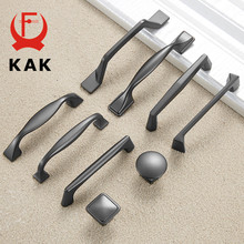 KAK Zinc Alloy Pearl Gray Cabinet Handles Drawer Knobs Kitchen Cupboard Door Pulls Fashion Furniture Handle Cabinet Hardware(China)