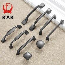 KAK perla de aleación de cinc armario gris manijas tiradores cajón cocina armario tiradores de puertas tirador de mueble de moda Hardware