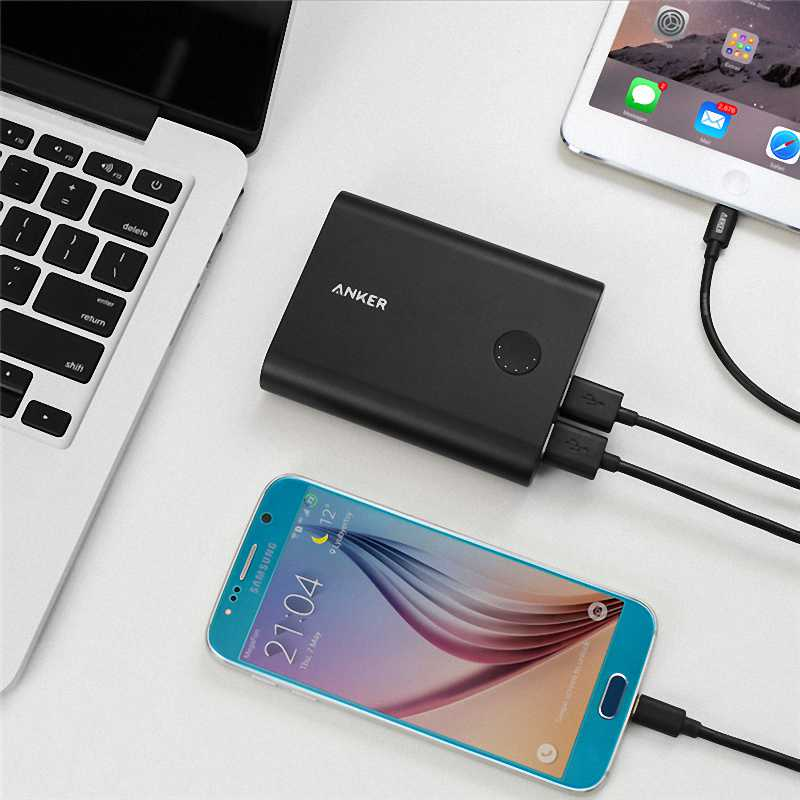 2016 Hot Sale anker powercore Power Bank 10050mAh 18650 charger portable External battery pack powerbank for all Phone