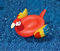 220cm Giant Inflatable Parrot Pool Float Water Fun 1
