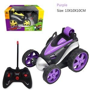 Image 3 - Kaskaderów taniec RC samochodów upadki elektryczne sterowane Mini samochód śmieszne Rolling obrotowe pojazd na kołach zabawki dla prezenty urodzinowe dla dzieci