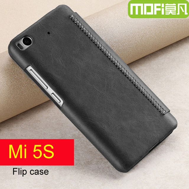 quality design 5538a 2f3f8 US $10.35 26% OFF|xiaomi mi 5s case flip mi5s leather cover 64gb xiaomi 5 s  qtp xiaomi m5s 128gb wallet case 5.15