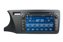 Touch screen HD 2 din 8 Car DVD Player for Honda CITY 2014 With GPS Navigation