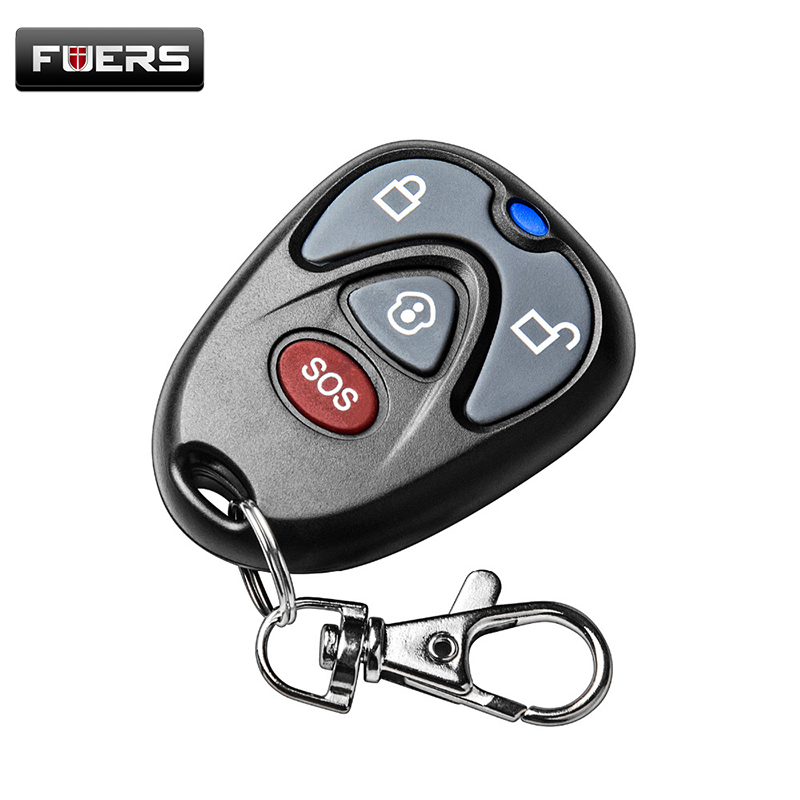 High quality 433Mhz keychain Remote Control Key Fob for G90E G90B Security Wireless Alarm System батарейки duracell basic lr6 4bl aa 4 шт