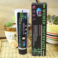 100 gWomen-only bamboo charcoal toothpaste moth-proofing teeth whitening
