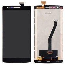 Nueva pantalla táctil del digitizador + lcd display asamblea para oneplus one 1 + a0001 va091 t18 0.4