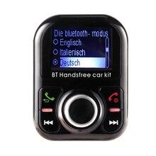 Die Bluetooth Car Kit Handsfree FM Modulator Transmitter MP3 Player Two USB Charger Port Germany Language
